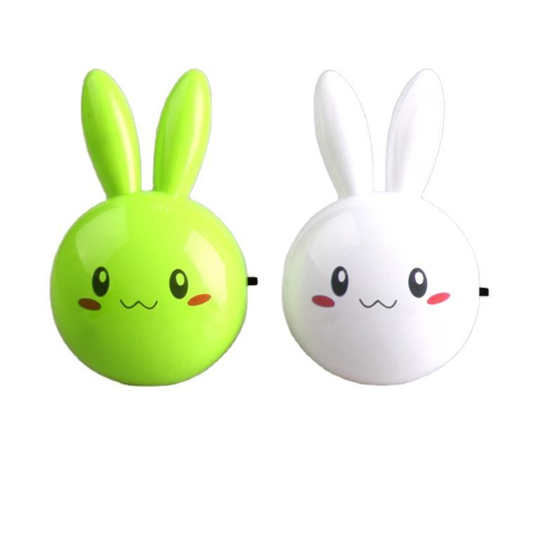 Lopunny long eared rabbit shape 4 SMD mini switch plug in night light 0.6W AC 110V 220V W062
