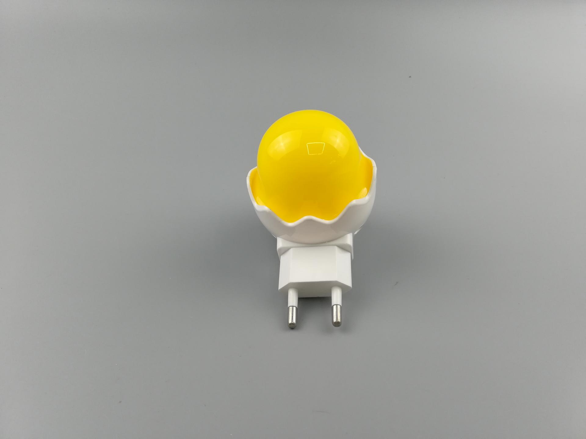 OEM Children's Bedroom Creative Cartoon Decor Lamp EU W032 Popular Nightlight Cute Mini Yellow Duck plug in lighting