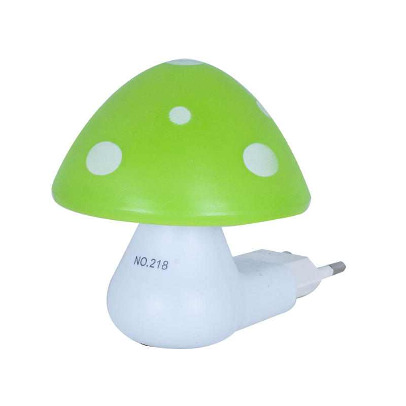 OEM 1.5W AC 110V or 220V W022 Mushroom shape 16SMD mini switch plug in table lamp night light