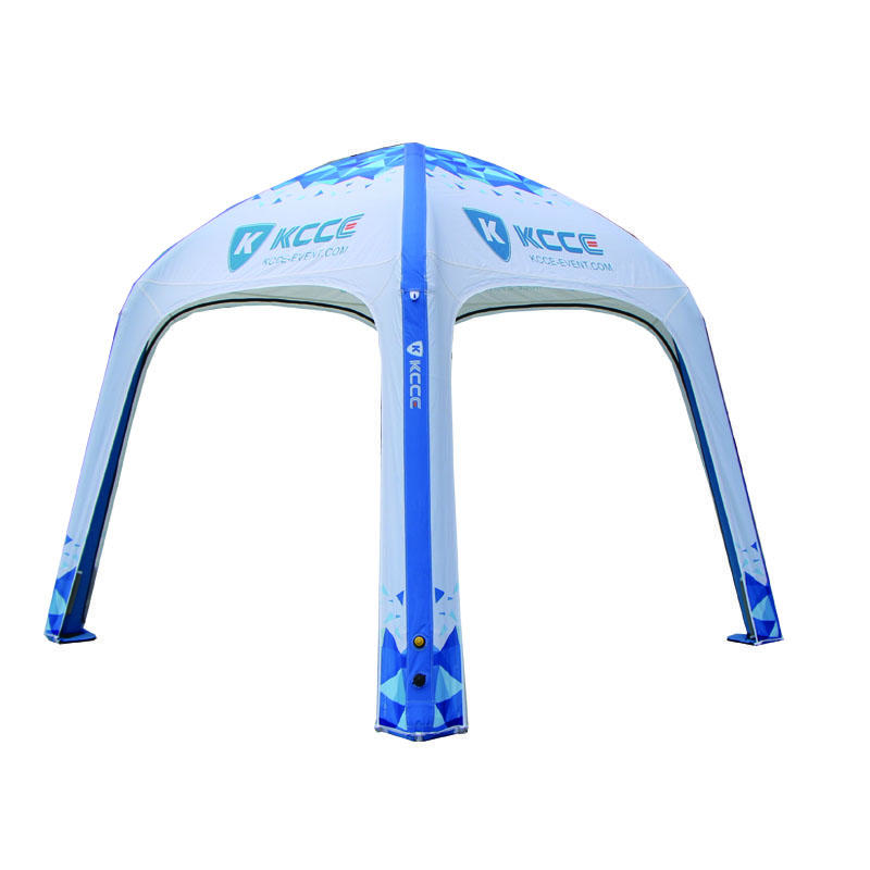 4x4m structure advertising Inflatable Tent, TPU sealed inflatable tent//