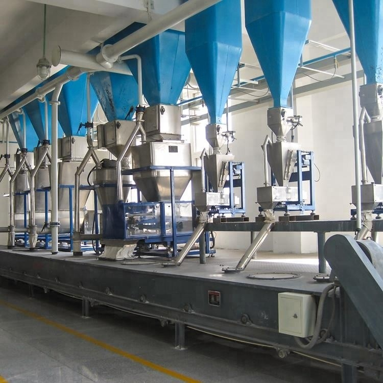 High Efficiency & Low Cost Detergent Powder Production Equipment/Washing Powder Production Line