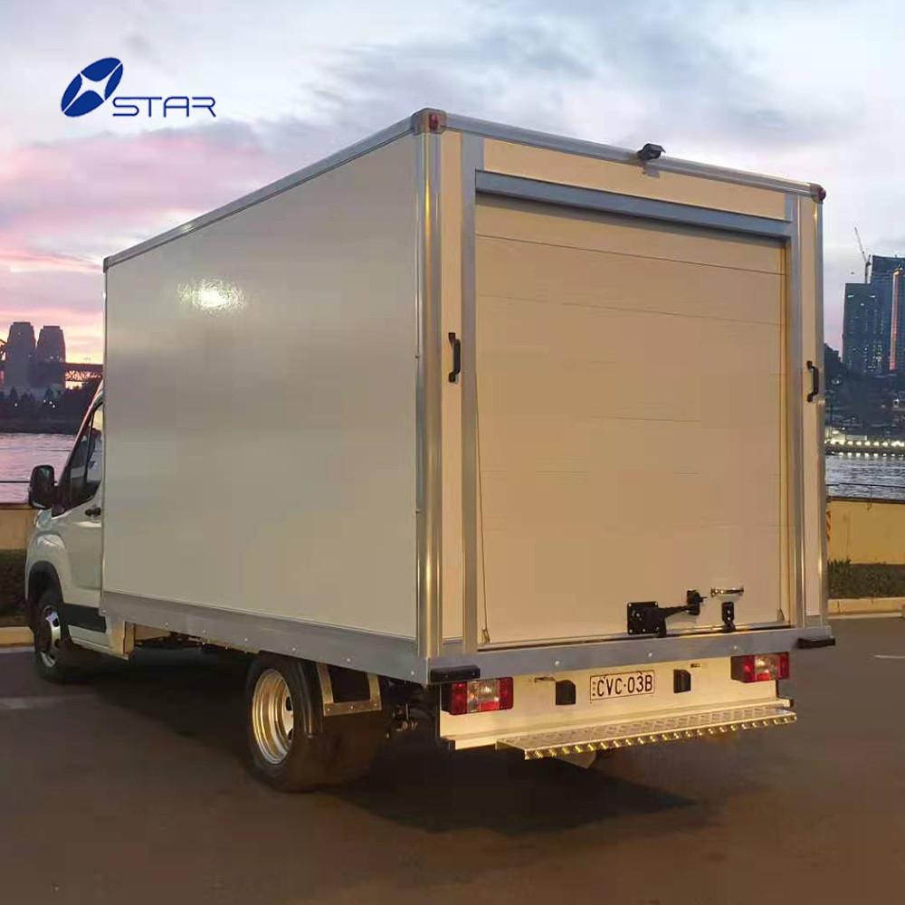 Automatic Aluminum Roller Shutter Door of Refrigerated Truck Rv Van Food Truck Cargo Trailer Security Steel Door