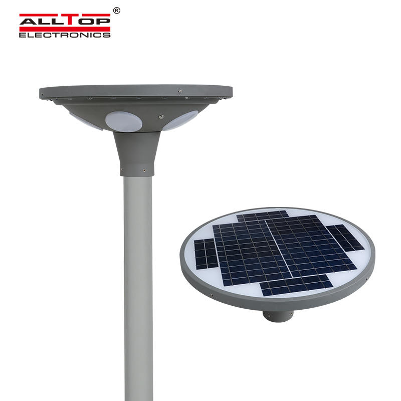 ALLTOP 2020 New design high bright starlight park road lighting ip65 30w 60w led solar garden light