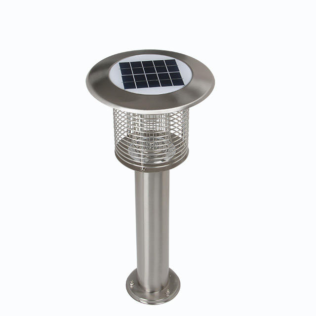Hot selling energy saving mosquito killing lamp 3w led solar gate lighting