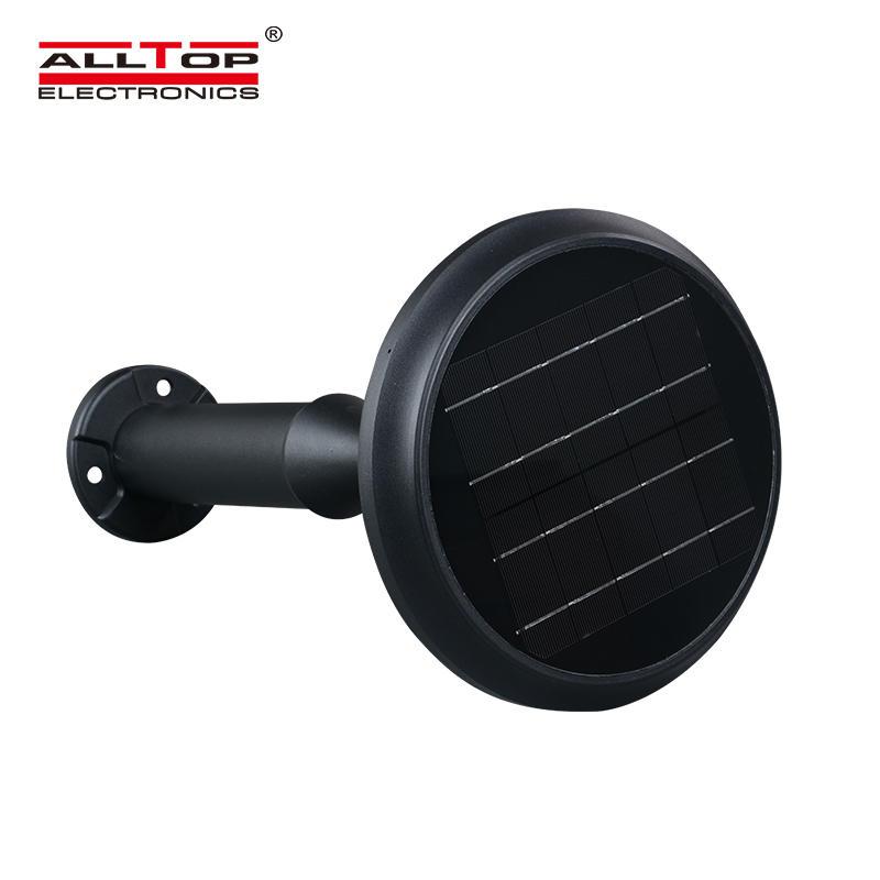 ALLTOP High power ip65 outdoor 5w waterproof battery all in one solar led garden light price