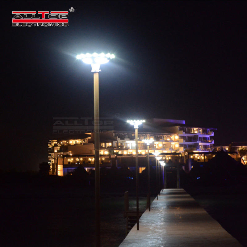 ALLTOP Hot sale aluminum outdoor road solar light park ip65 30w 60w led garden solar light