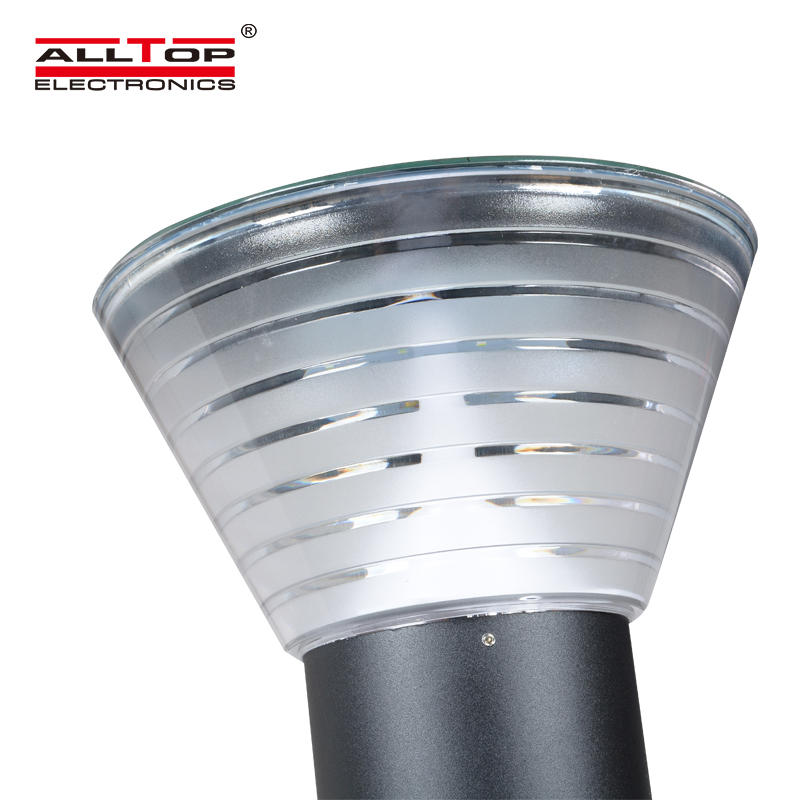ALLTOP High power ip65 outdoor 5w waterproof battery all in one solar led garden light price