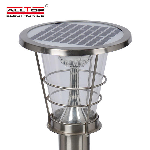 High Power 5W Super Bright Integrated Solar Led Garden Lights