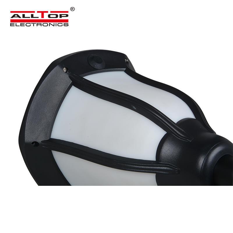 ALLTOP Energy saving bridgelux chip 2835 garden waterproof 2W Solar torch light