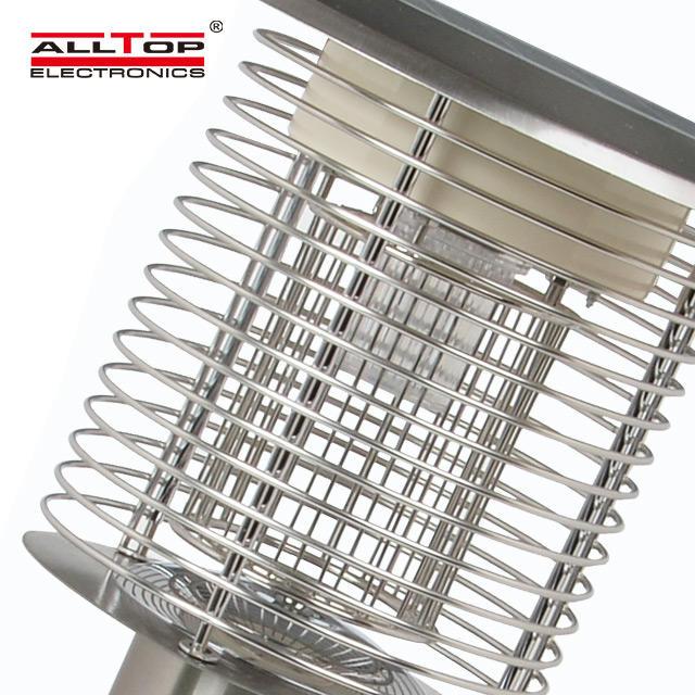 Hot selling energy saving mosquito killing lamp 3w led solar gate lighting