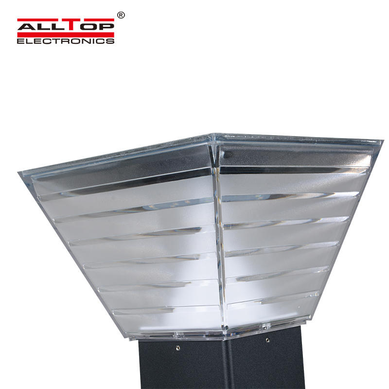 ALLTOP High power ip65 outdoor 5w waterproof battery billboard garden led solar light
