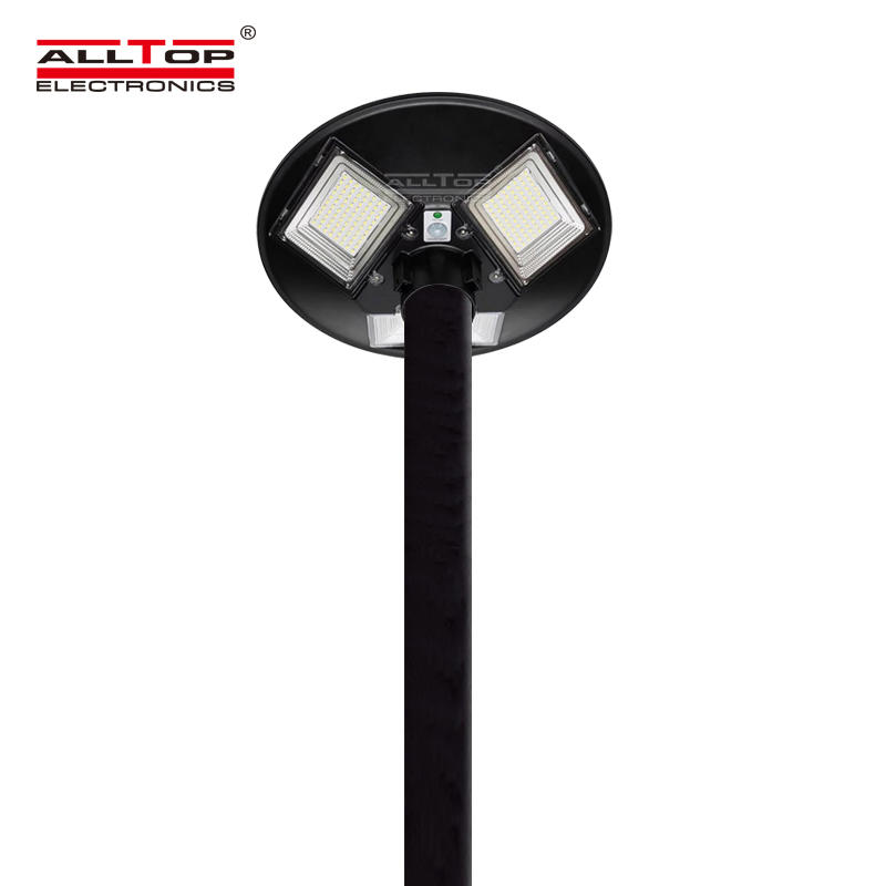 ALLTOP Good performance ABS outdoor all in one integrated ip65 waterproof 300w 500w solar garden lighting