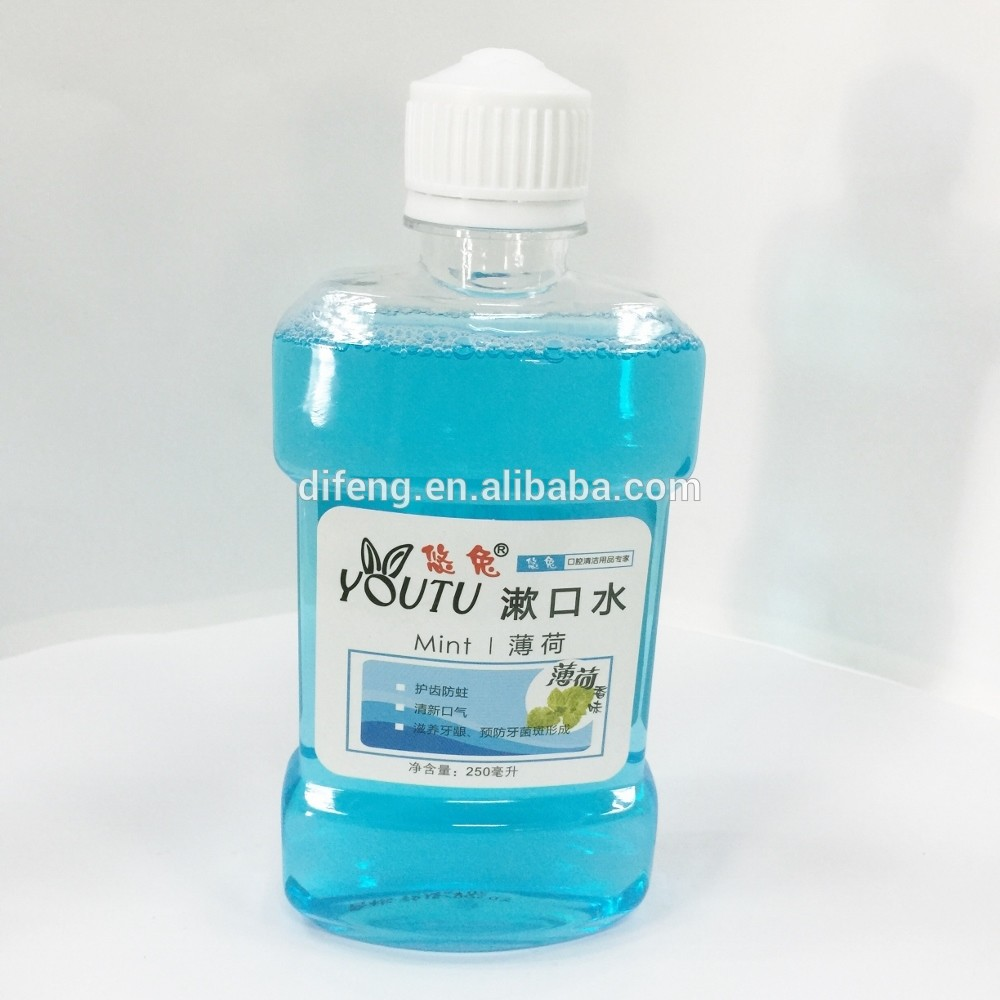 250ml dental oral liquid mouthwash manufacturers