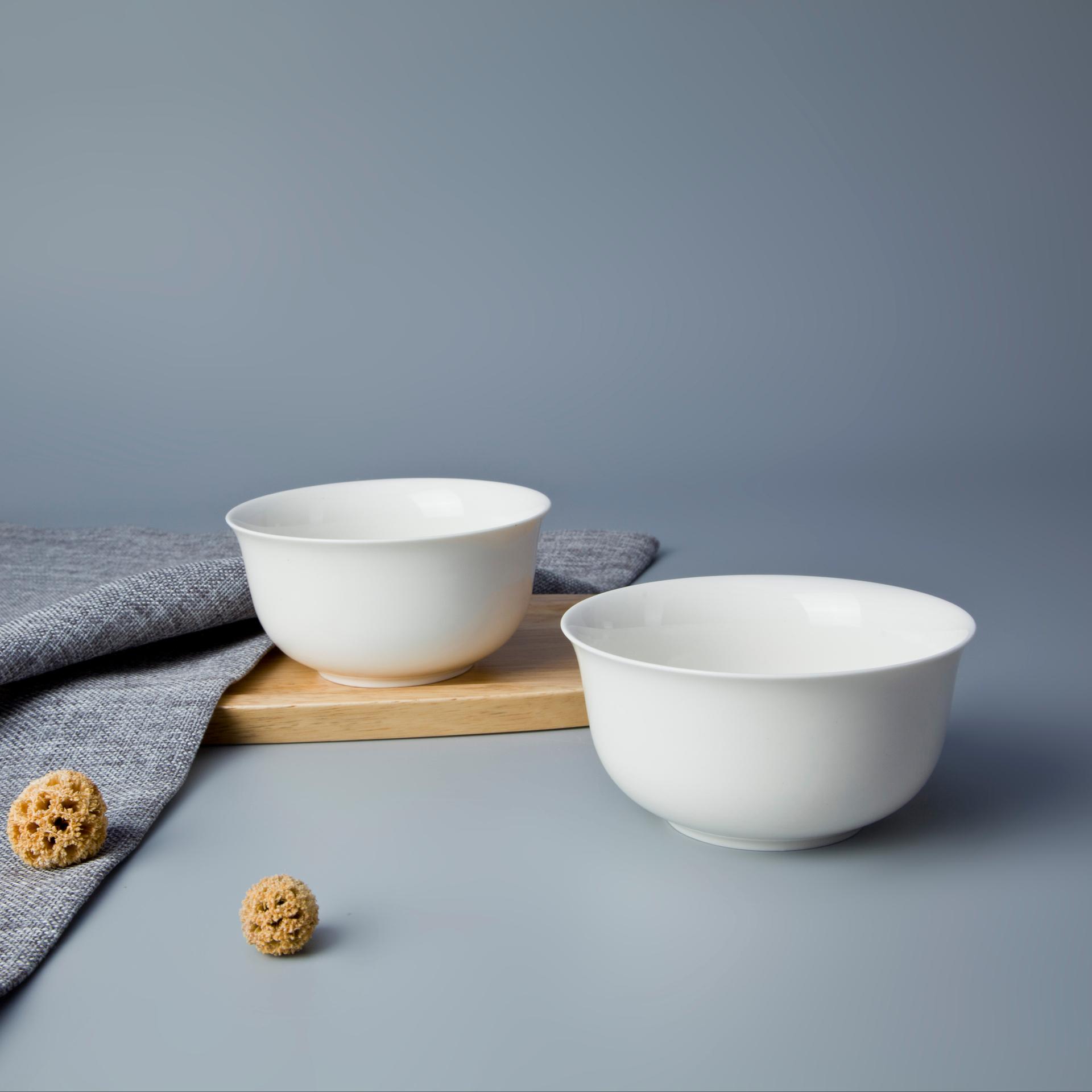wholesale fine oven safe ceramic tableware porcelain cereal bowl