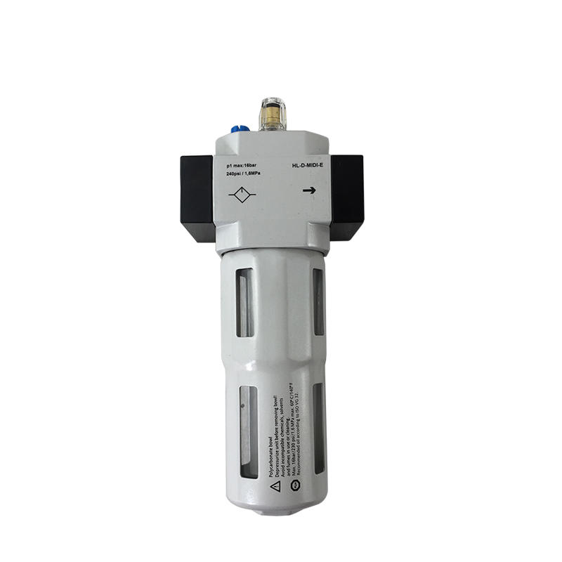 Aluminum Alloy Filter Regulator FRL LOE-1/2-D-MIDI-E LOE-1-D-MAXI Air Filter Pneumatic Lubricator