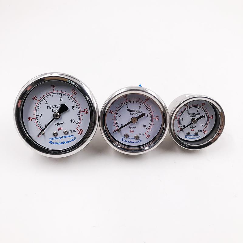 Oil Pressure Gauge Air Source Treatment Filter Regulator Pressure Gauge