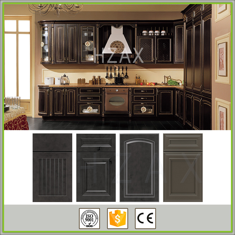 American Style Solid Wood Furniture Espresso Shaker Kitchen Cabinet Rack Parts