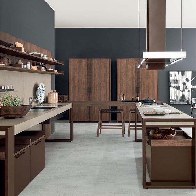 China cheap style teak wood kids kitchen cabinets latest wardrobe design