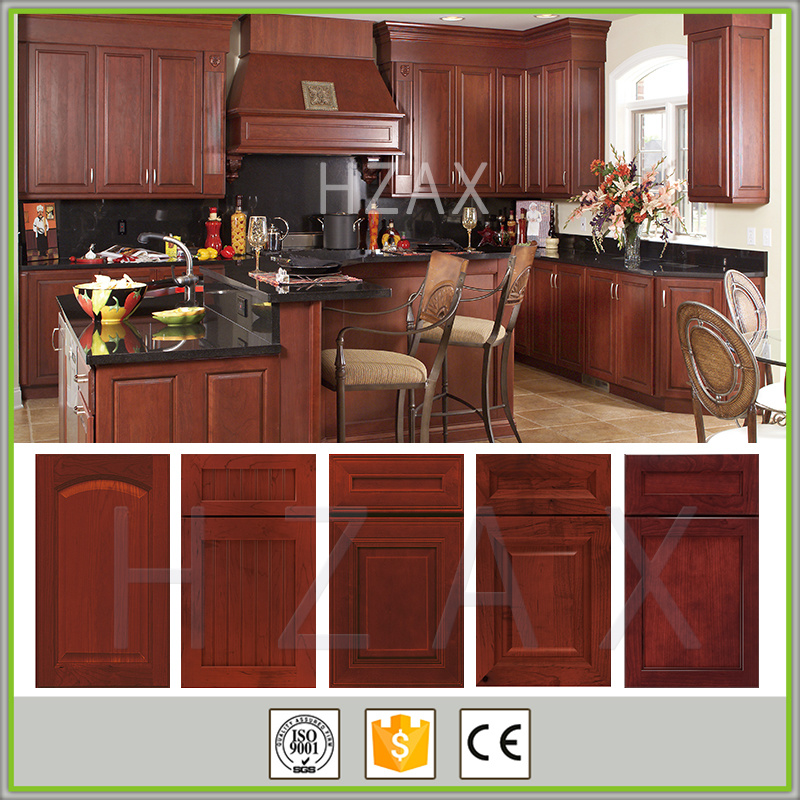 Classic style kitchen cabinet solid wood designs of kitchen hanging cabinets