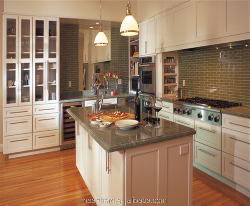 Modern Display Wooden Kitchen Designs with Good Quality