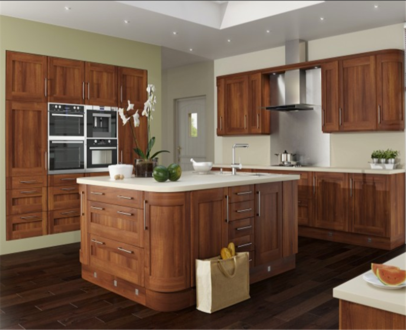 China Espresso Rta Solid Wood Kitchen Cabinets And Doors European Style Kitchen Cabinet Factory Custom made