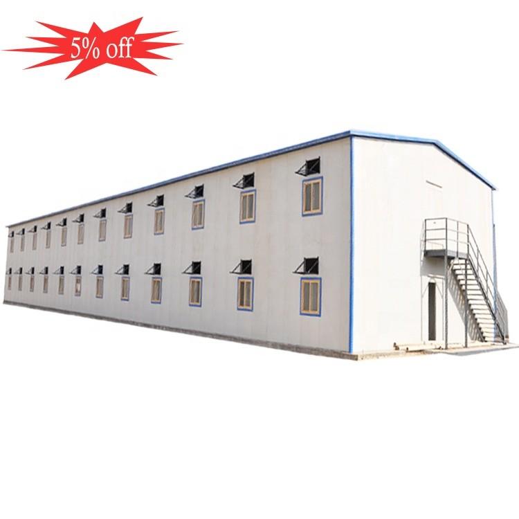 High quality steel prefabricated sandwich panel house