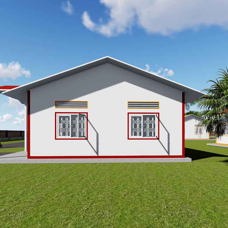China cheap tempered prefab export modular homes