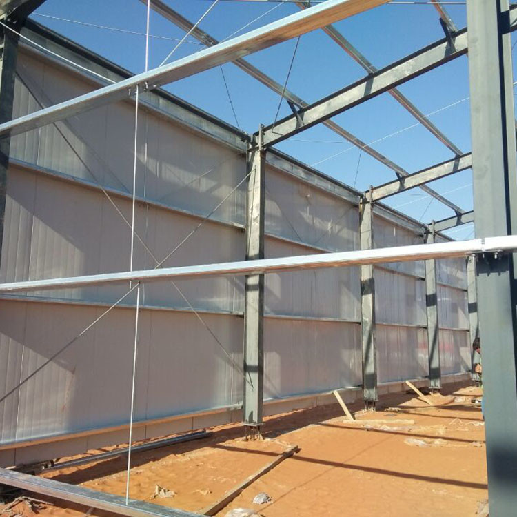 Galvanized Building Light Frame Steel Structure For Factory