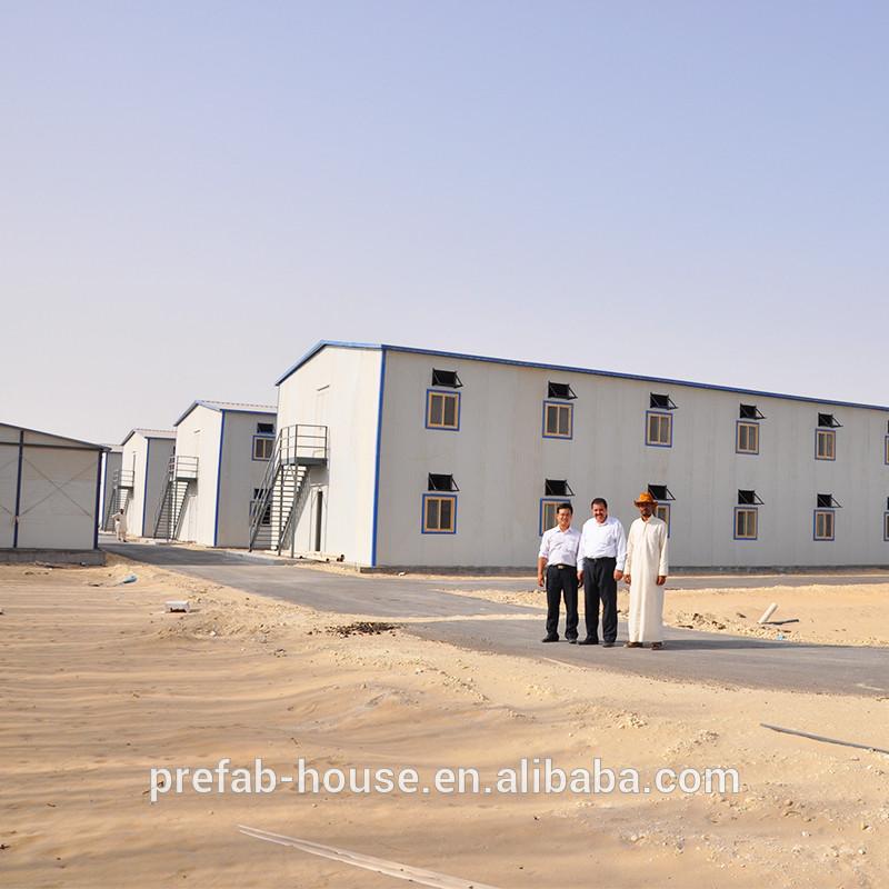 2019 new standard prefab house labor camp