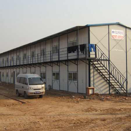 Low cost modular homes for site accomodation