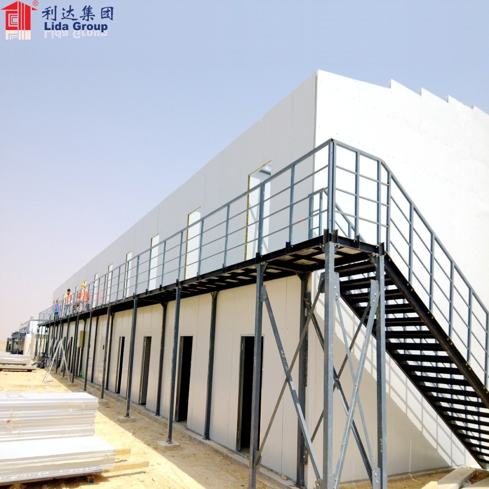 Low Cost prefab two floor house