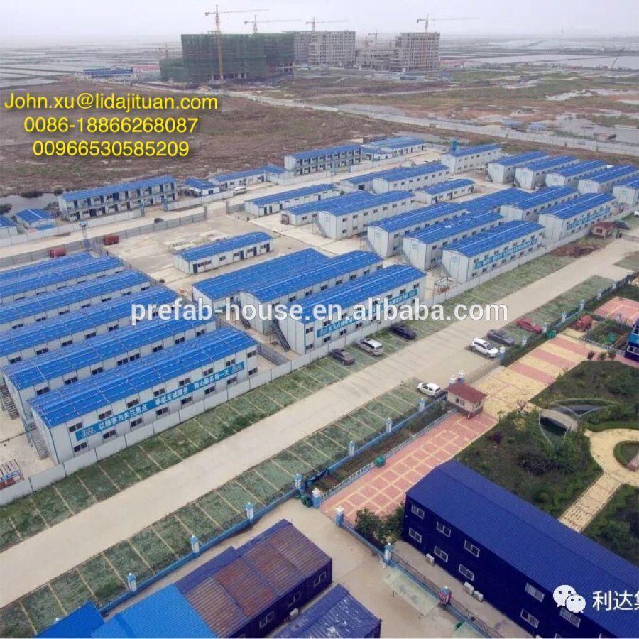 Prefabricated Steel Modular House Prefab Labor Camp