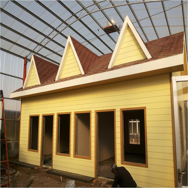 China Supplier High Quality Well Designed Gauge Light Steel Prefab Luxury Villa