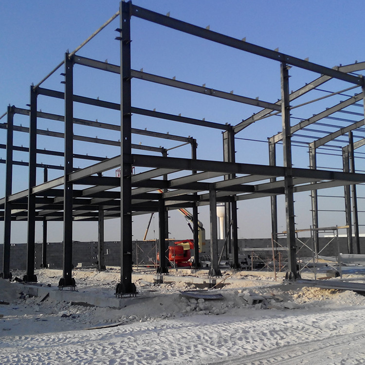 Frame building construction warehouse light steel shade structure