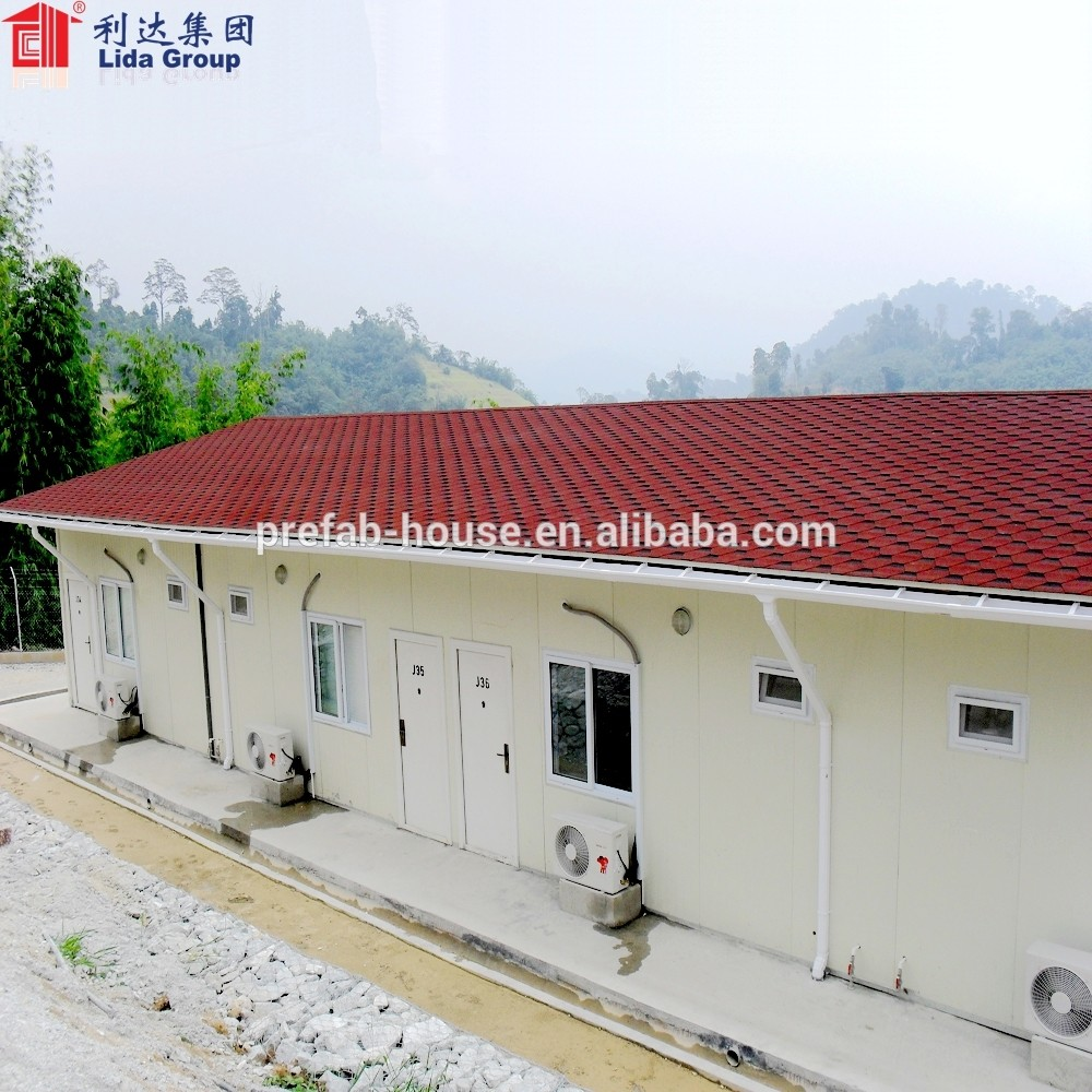 Low Cost Pre Fab Engineered Steel House