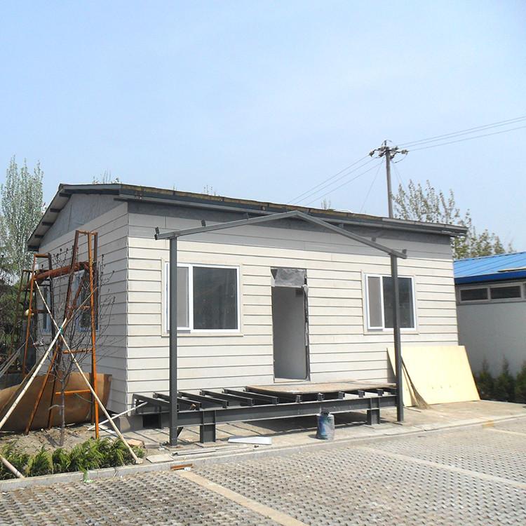 Homes Light Steel Frame Structure Prefab Villa House For Sale