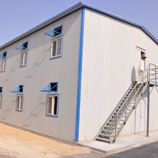 Ethiopia prefabricated mobile house for labor camp accommodation/office