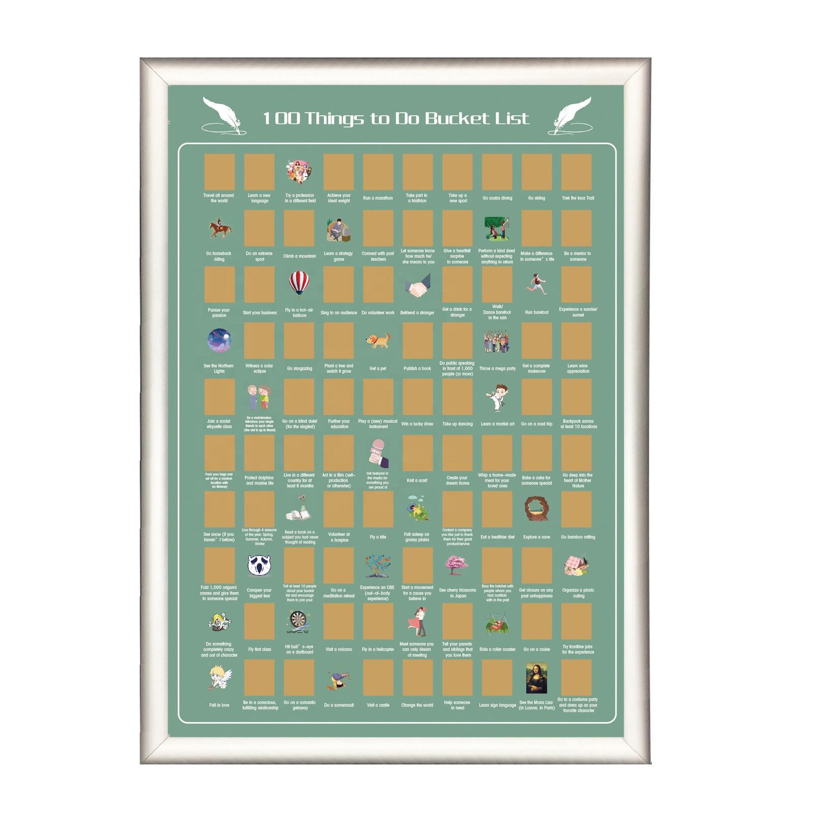 product-Dezheng-OEM Premium Creative Gifts Magnetic Poster Hanger Frame Top Illustration Poster 100 -1
