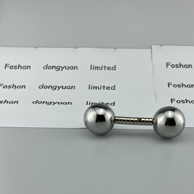 SS 430 Stainless Steel Hollow Ball with Magnetic and Gray Color