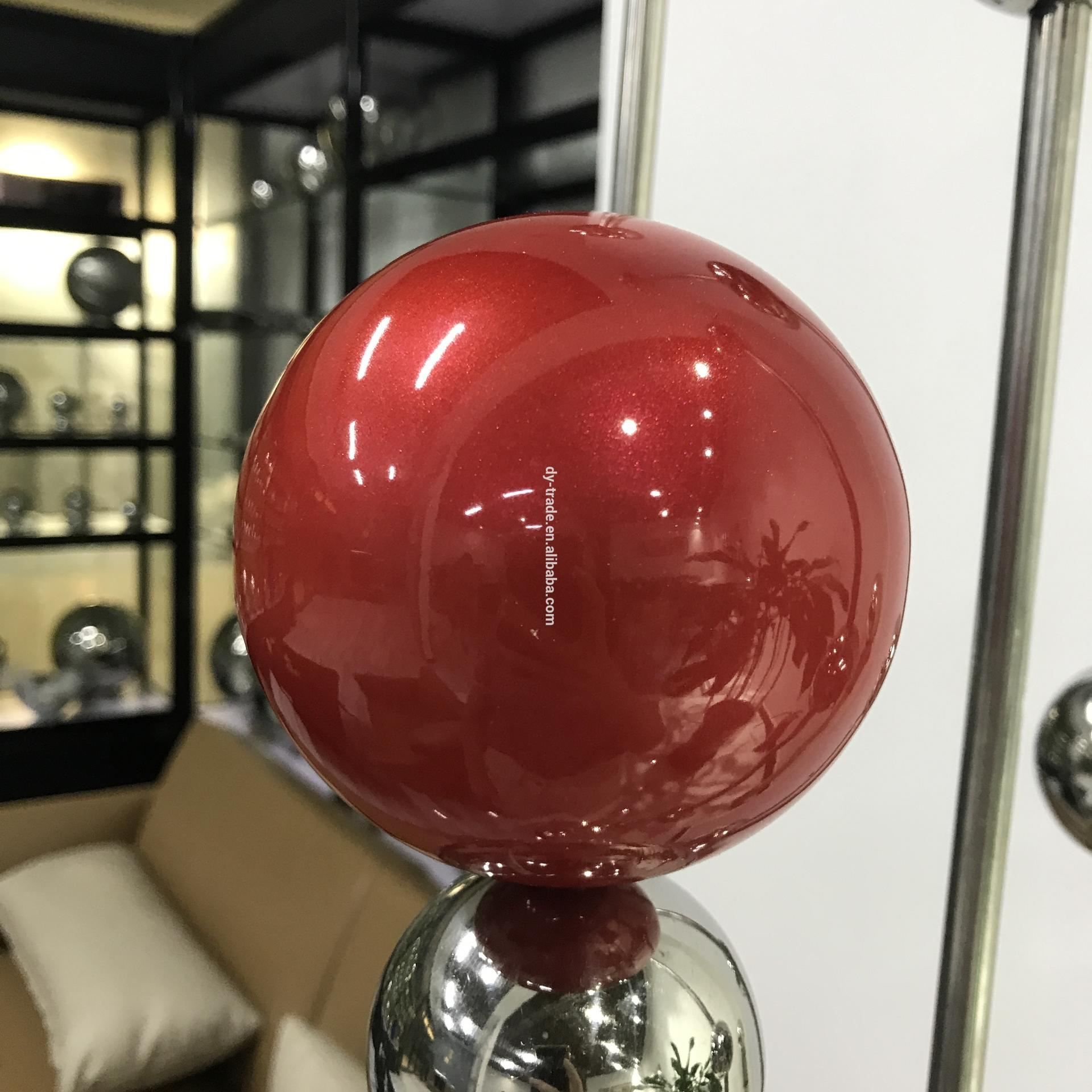 Large Stainless Steel outdoor Baubles Christmas Ball Decoration balls