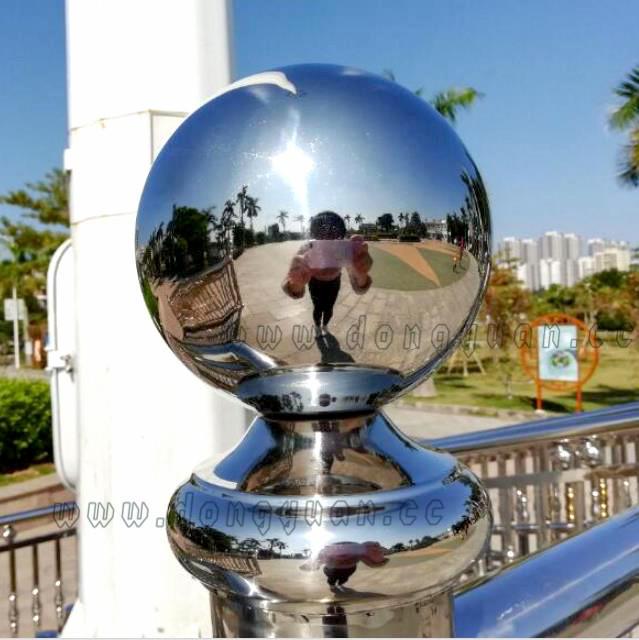 Stainless Steel Sphere as Tesla Coil