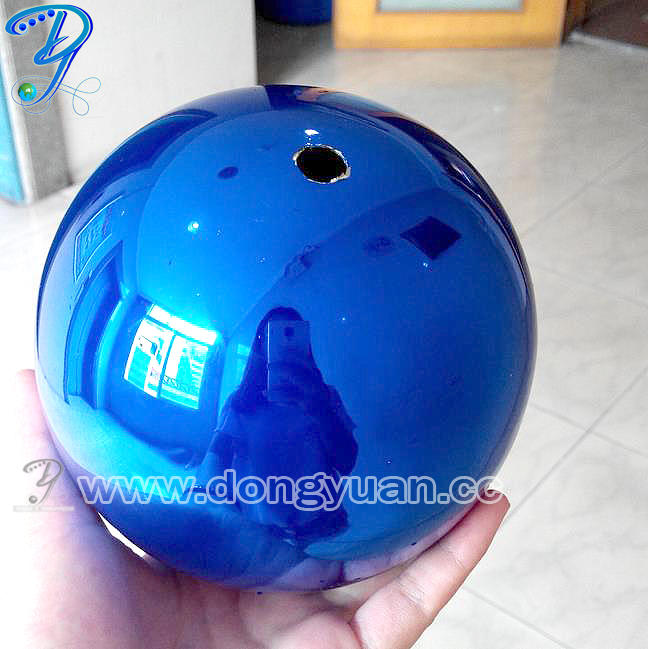 Stainless Steel Rainbow Color Ball Painted Friction for Wedding Decoration