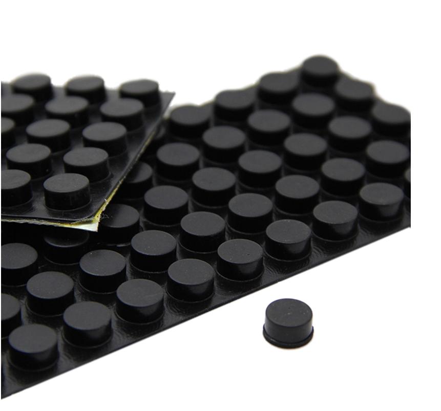 Black 3m Bumpon Self Adhesive Silicone Rubber Feet