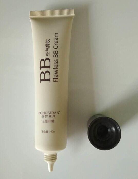 30ml flawless bb cream tube, cc cream tube with coex 5 layer