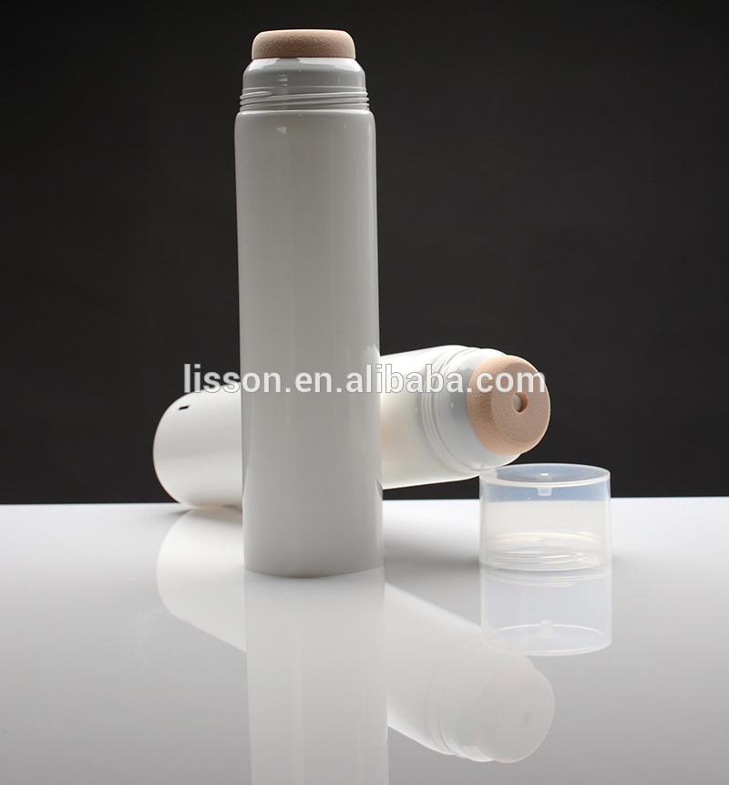 D50 sponge applicator tube packaging for sunblock or body lotion