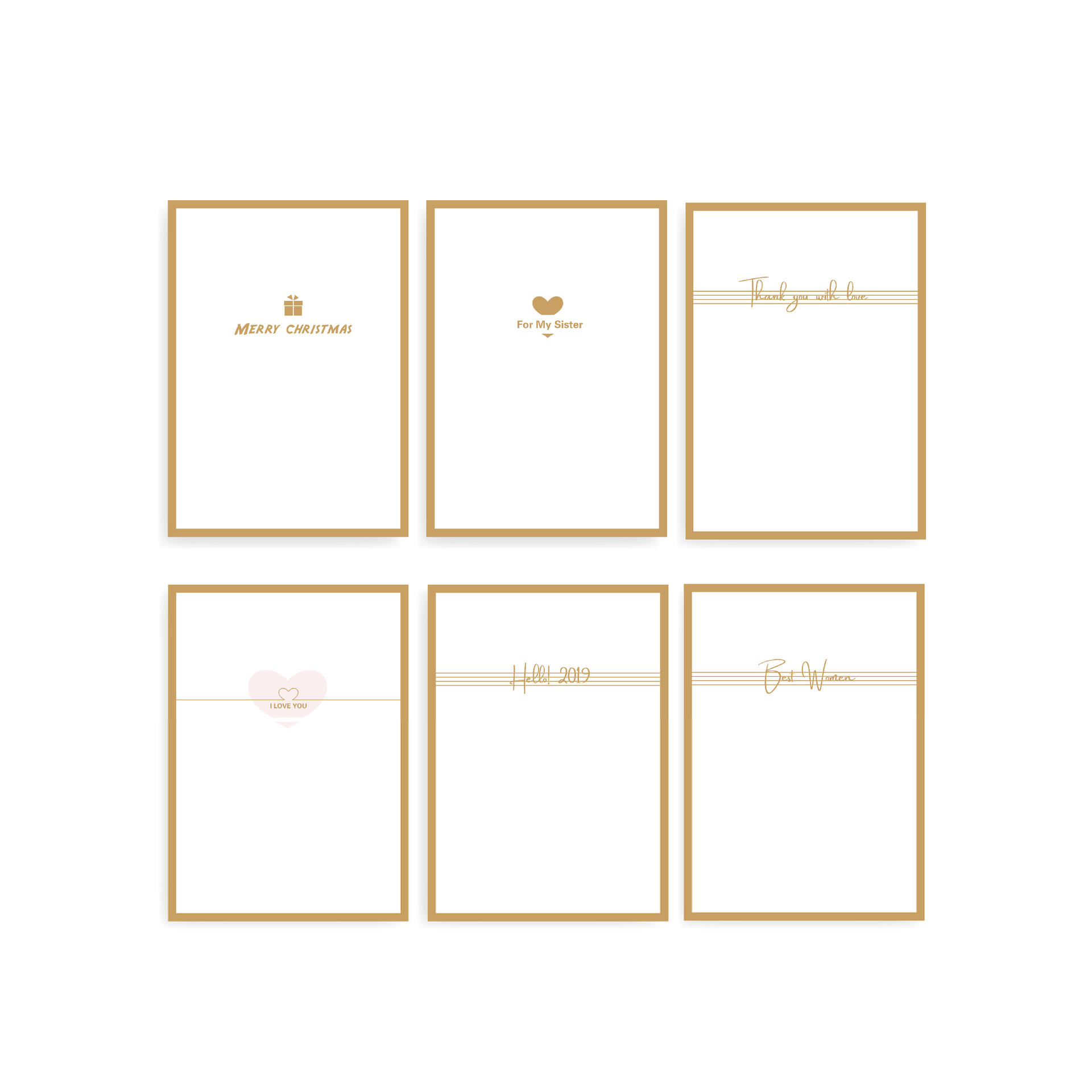 product-Personalized ECO Friendly Christmas Cards Greeting Cards In Bulk Gift Card Packaging-Dezheng-4