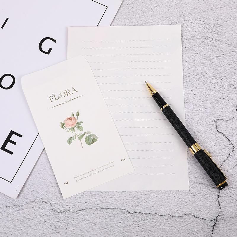 product-Dezheng-A5 Custom Print On Kraft Greetings Card Design Envelope Plain White Photo Pocket Car-1