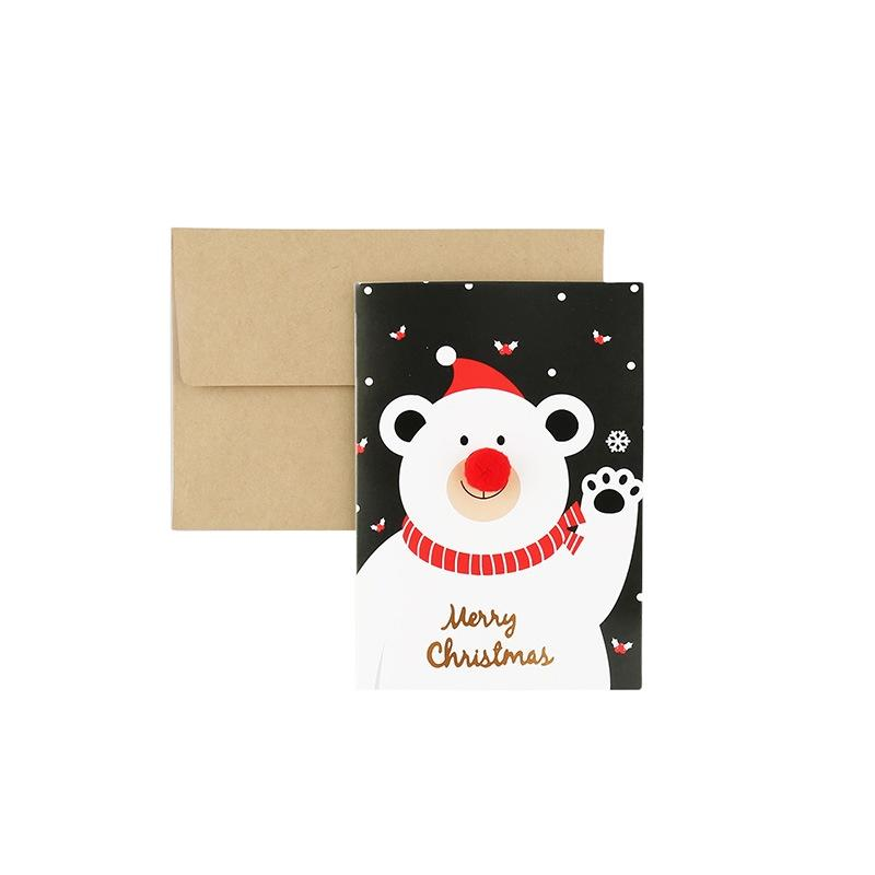 Hot Sale Special Holiday Symbol Christmas Decoration Home Pop Up Gift Cards