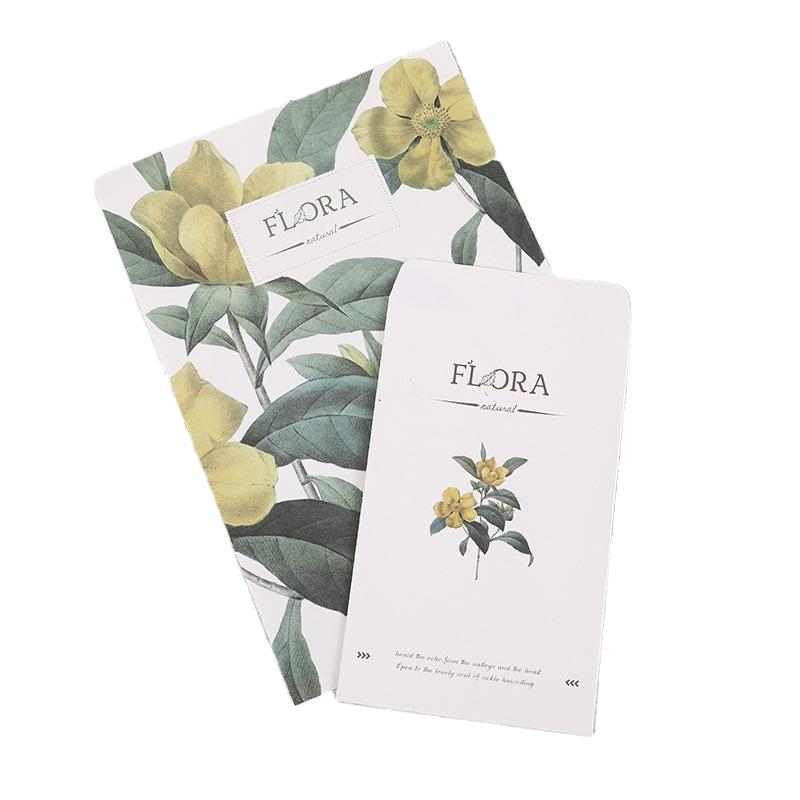 A5 Custom Print On Kraft Greetings Card Design Envelope Plain White Photo Pocket Cards With Envelopes