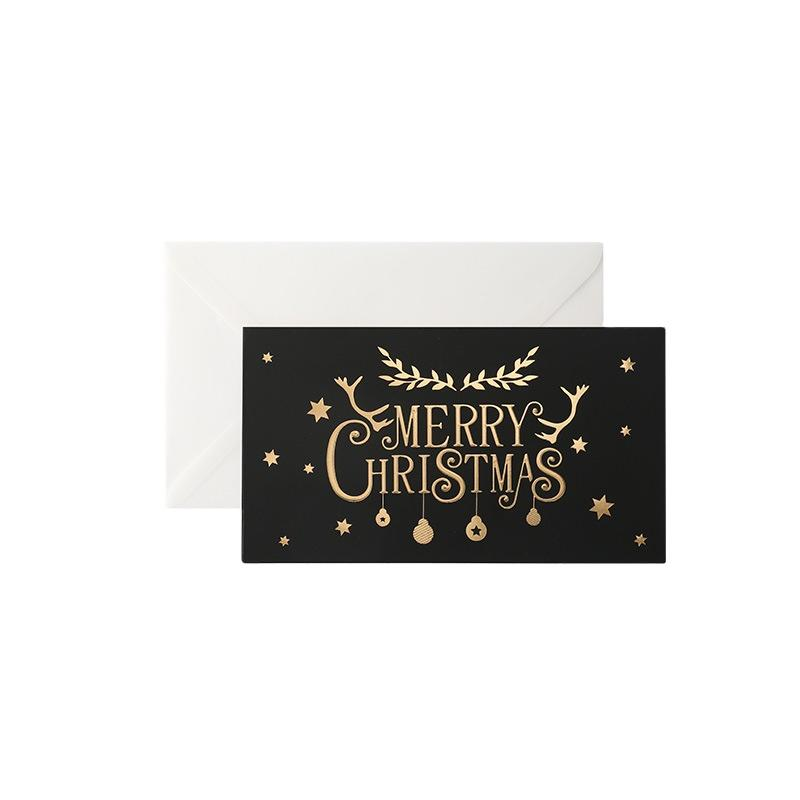 product-Christmas Blank Inside Holiday Greeting Cards Packaging Gift Greeting Card-Dezheng-img-1